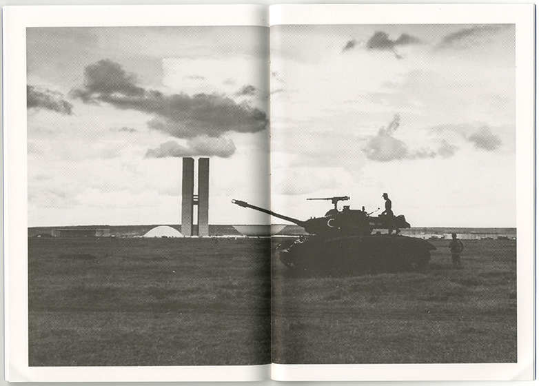 Tadej Pogačar & P.A.R.A.S.I.T.E. Museum of Contemporary Art, Nine tanks (and some blank pages) of Brasil